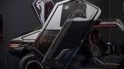 Производитель кальянов выпустил внедорожник с выдвижной гусеницей - фото 13