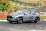 «Заряженный» Hyundai Kona N был поймали на тестах - фото 13