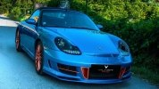 Интерьер кабриолета Porsche 911 щедро украсили деревом - фото 7