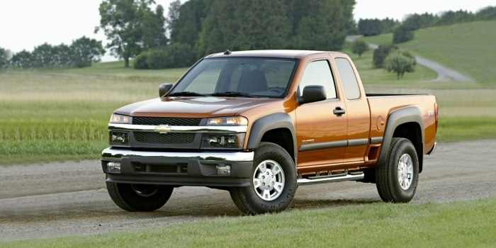 Chevrolet Colorado Extended Cab 2004