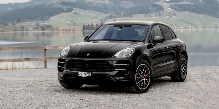 Porsche Macan Turbo 2013