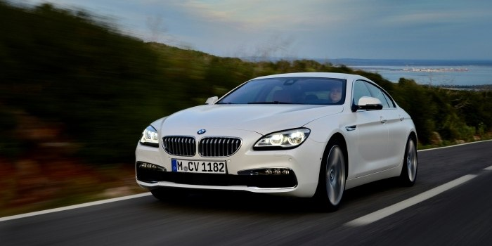BMW 6 Series Gran Coupe (F06) 2015