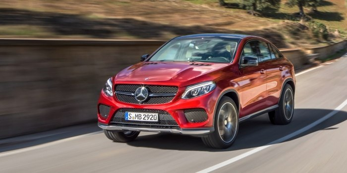 Mercedes GLE-Class Coupe (C 292) 2015