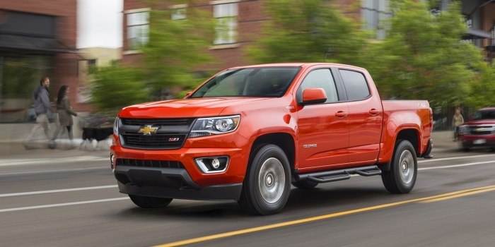 Chevrolet Colorado Crew Cab 2012