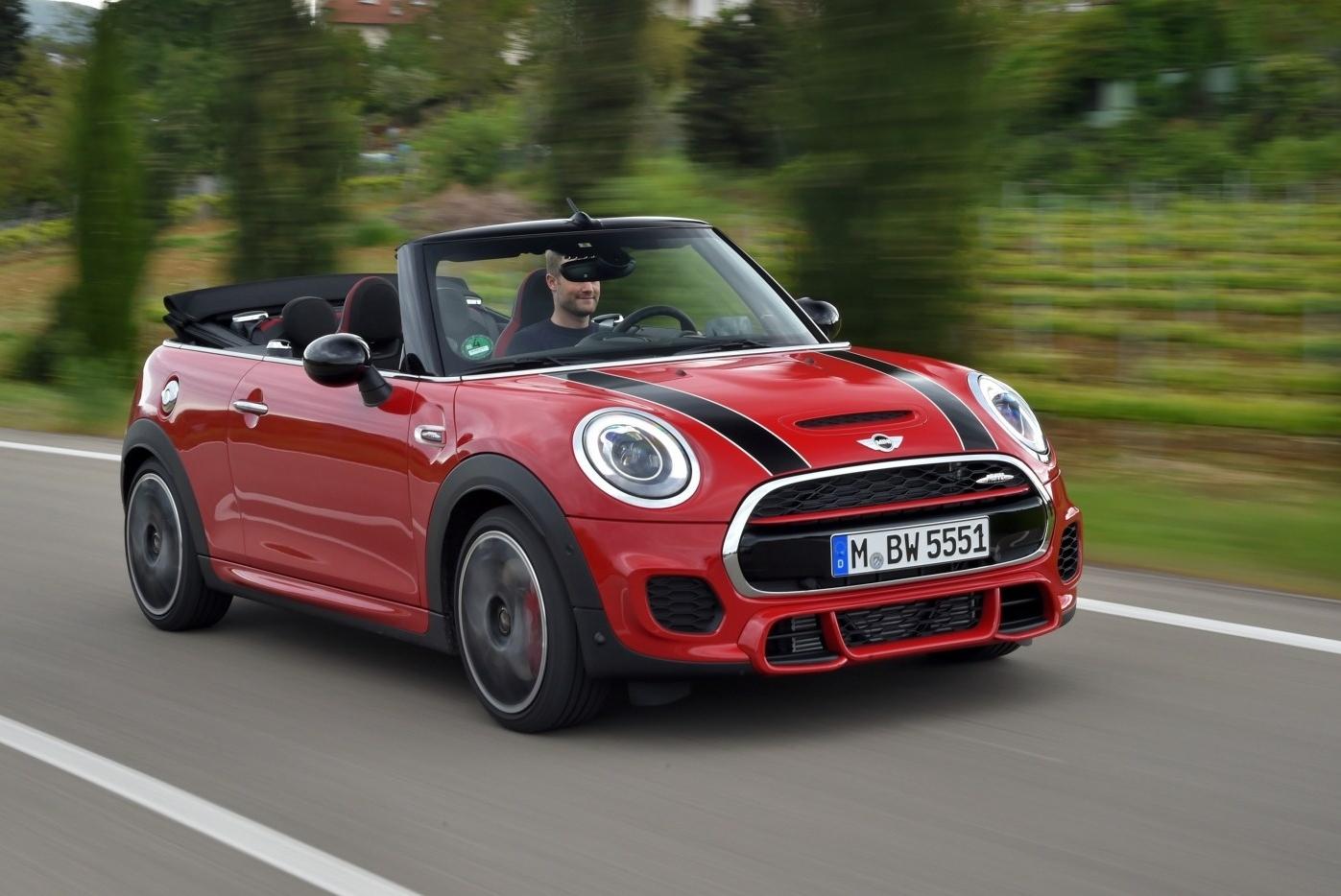 Mini John Cooper Works Cabrio цены отзывы характеристики John