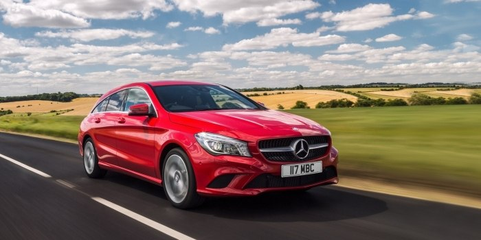Mercedes CLA Shooting Brake (X117) 2016