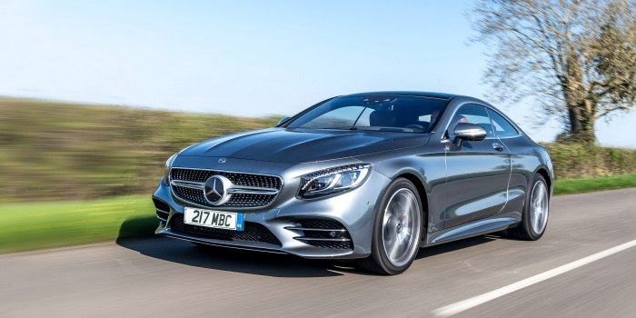 Mercedes S-Class Coupe (C217) 2017