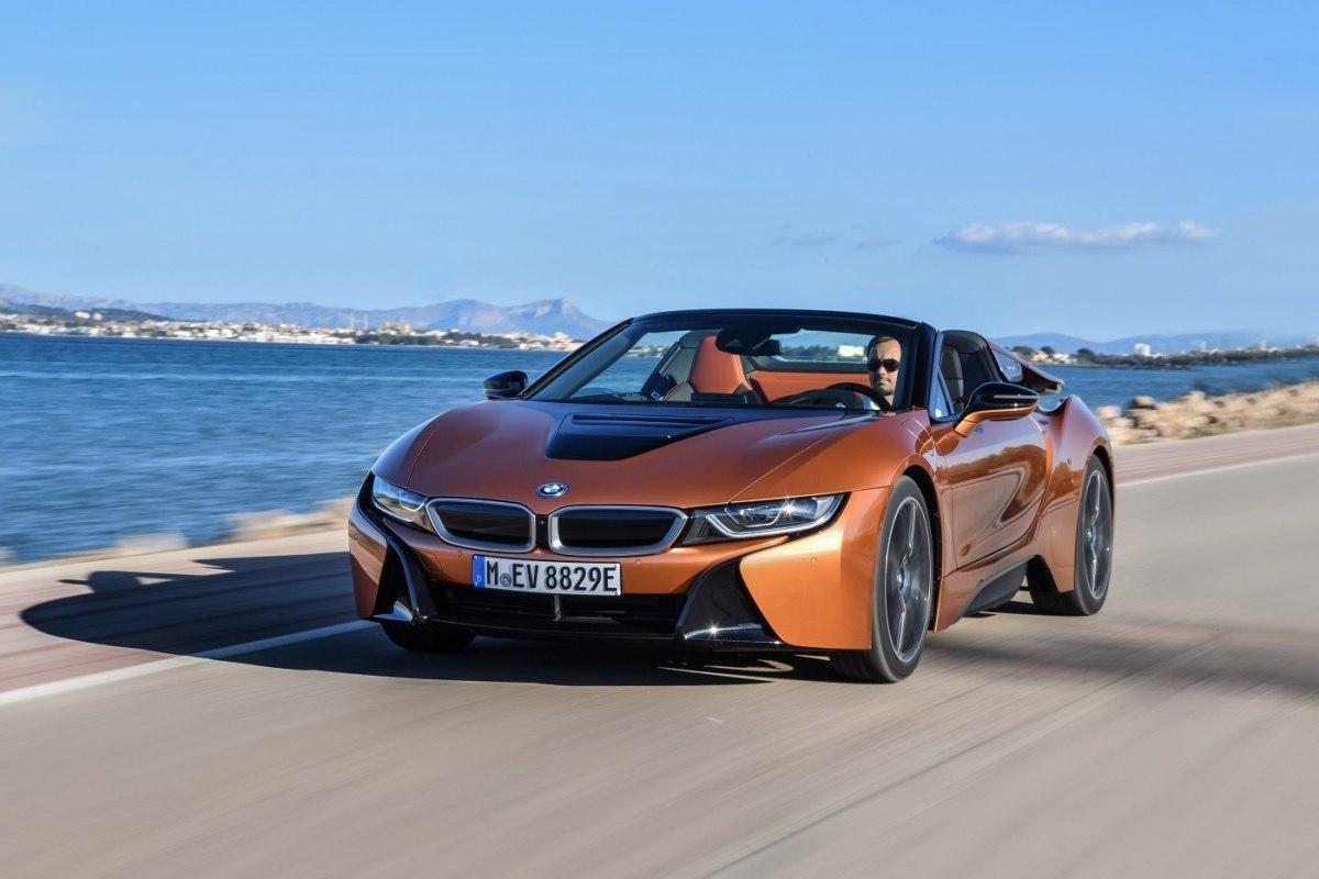 BMW i8 (БМВ i8) - цена, отзывы, характеристики BMW i8