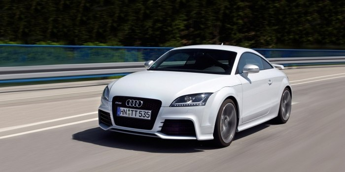 Audi TT RS Coupe 2009