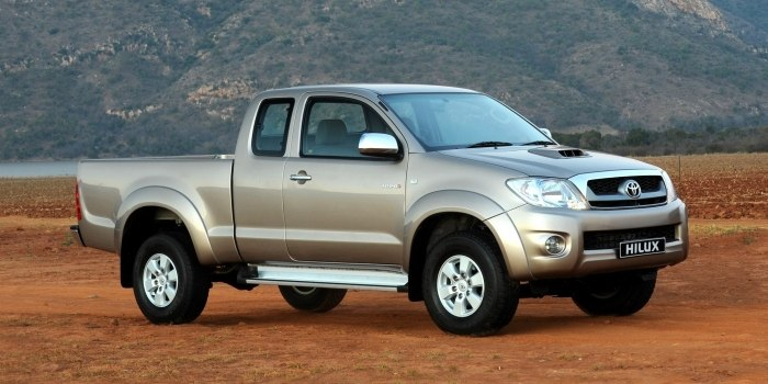 Toyota Hilux Extra Cab 2008
