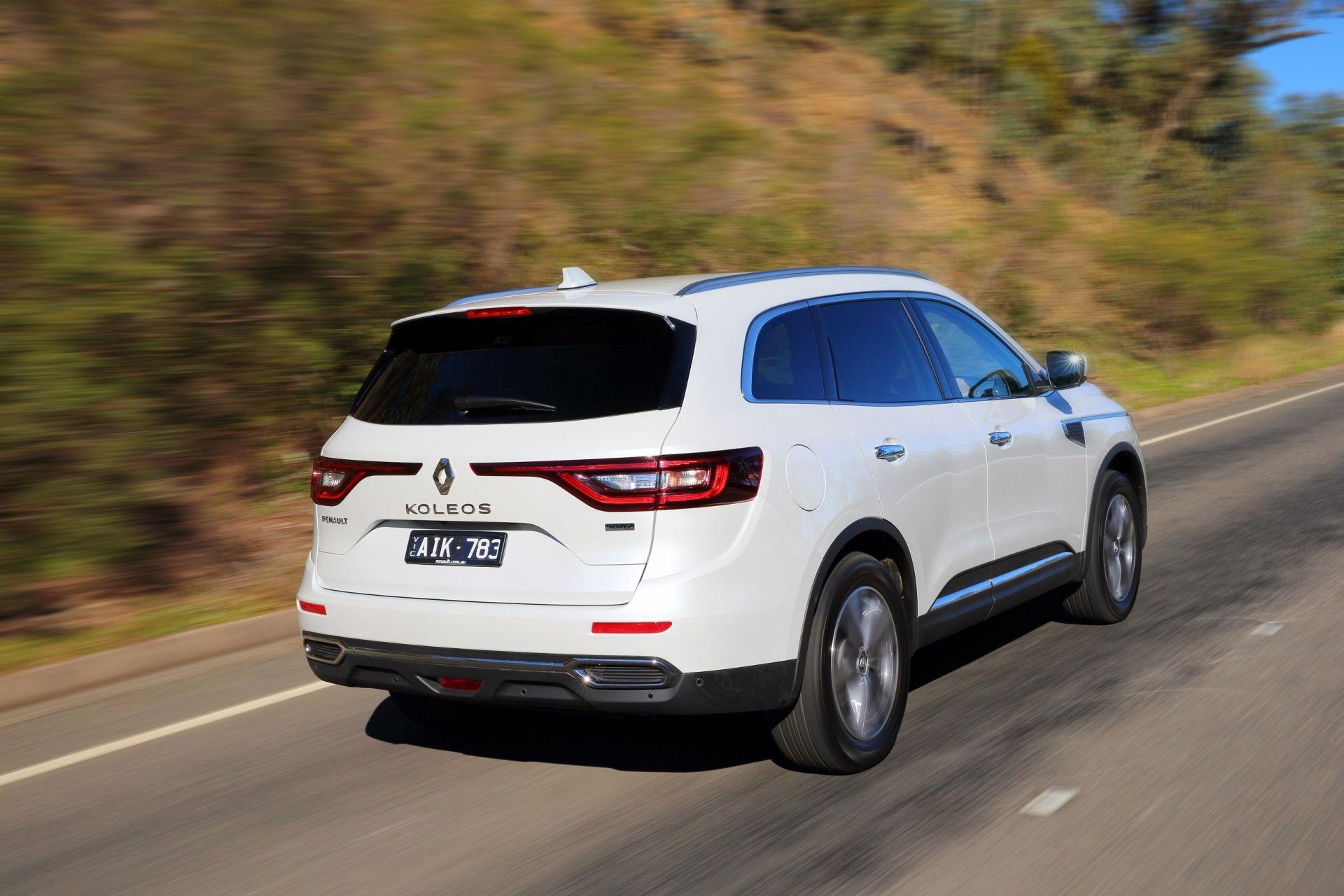 Renault Koleos цены отзывы характеристики Koleos от Renault