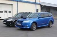 Subaru Forester S-edition: найди 10 отличий!