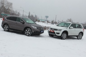 Honda CR-V vs Suzuki Grand Vitara