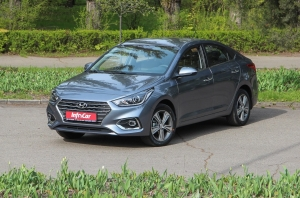 Тест-драйв {MARK} {MODEL}: Hyundai Accent. Бюджетный ли?