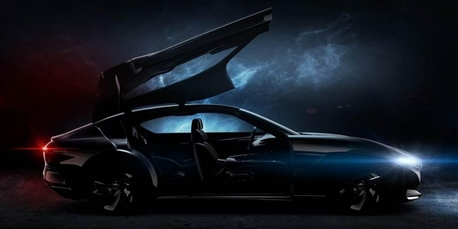 Pininfarina показала изображения нового электрического седана