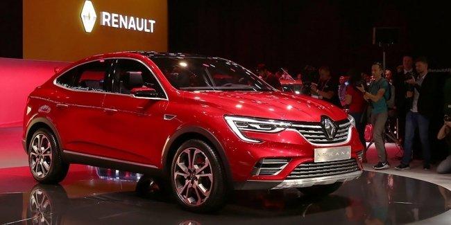 Renault представила новый купе-кроссовер Arkana