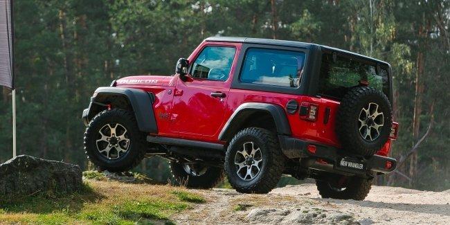 В Украине презентовали новый Jeep Wrangler