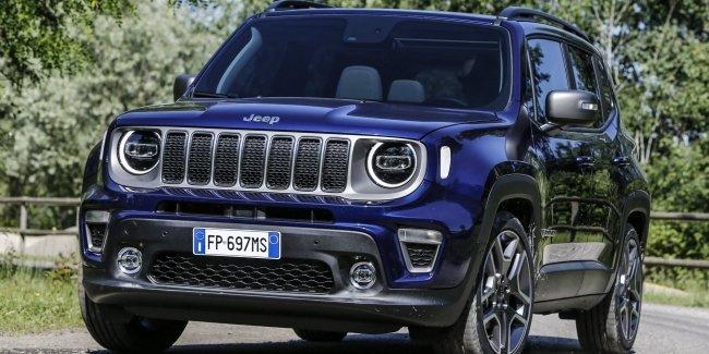 Jeep в 2020 году выпустит гибридный Renegade