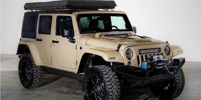Jeep Wrangler превратили в кемпинговый внедорожник