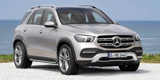 Mercedes сообщил новые подробности гибридного внедорожника GLE