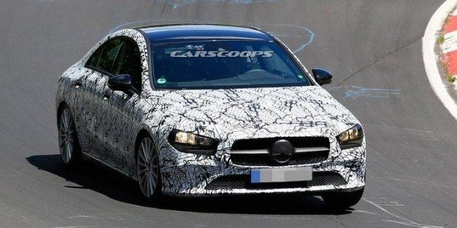 Mercedes-Benz подтвердил скорый выход нового CLA