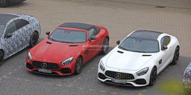 Mercedes-AMG GT должен получить 6-цилиндровый вариант