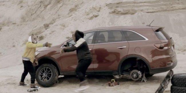 Jeep потроллил внедорожные возможности Kia