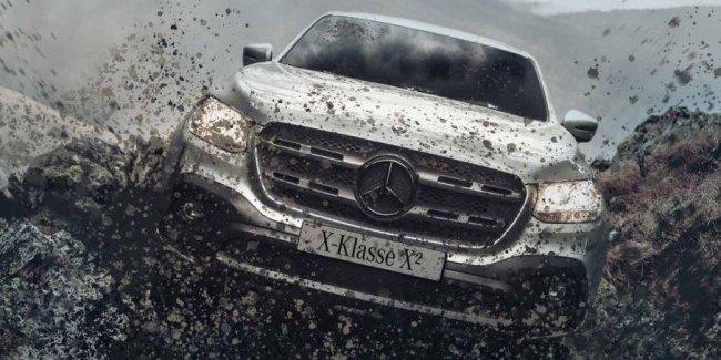 Mercedes-Benz построил пикап X-Class «в квадрате»