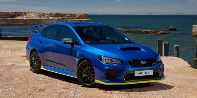 В Южной Африке создали самую мощную версию Subaru WRX STi