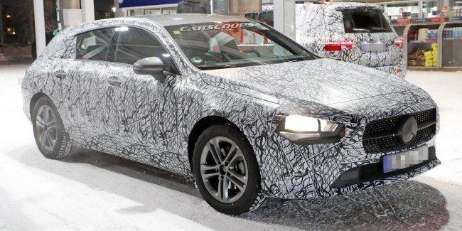 Фотошпионам удалось запечатлеть удлиненную версию универсала Mercedes-Benz CLA