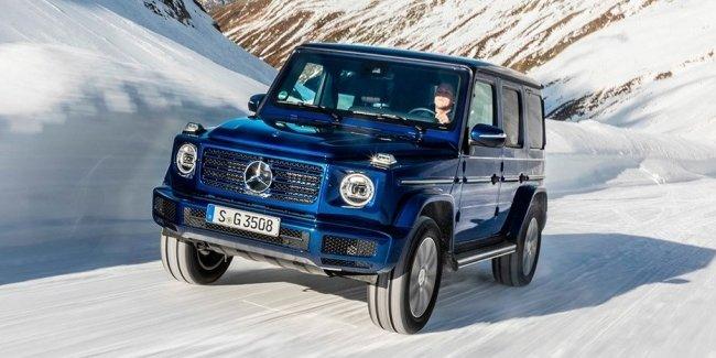 Mercedes-Benz представила дизельную модификацию внедорожника G-Class