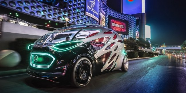 Как вам видение автомобиля будущего от Mercedes-Benz?
