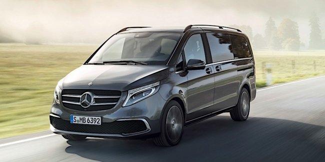 Mercedes-Benz представил обновленный минивэн V-Class