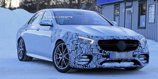 Mercedes-AMG готовит V8 с двойным турбонаддувом для обновленного E63