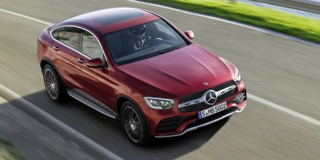 Обновленные Mercedes GLC и GLC Coupe получили совершенно новую линейку двигателей