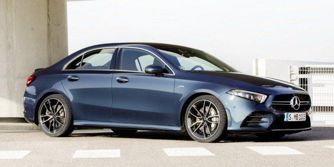 Новый Mercedes-AMG A35 в версии седан поступит в продажу до конца года
