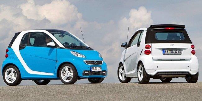 Daimler может продать половину акций smart компании Geely