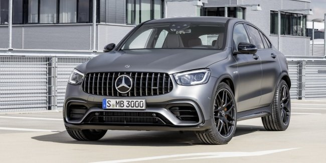 Mercedes-AMG озвучил цены на GLC 63