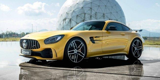 Немцы представили модернизированный суперкар Mercedes-AMG GT R