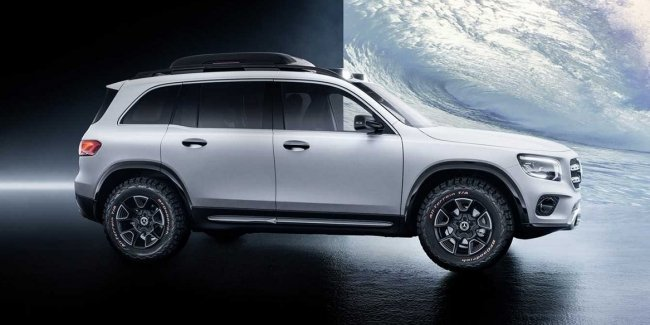 Mercedes показал «маленький Gelandewagen» на видео