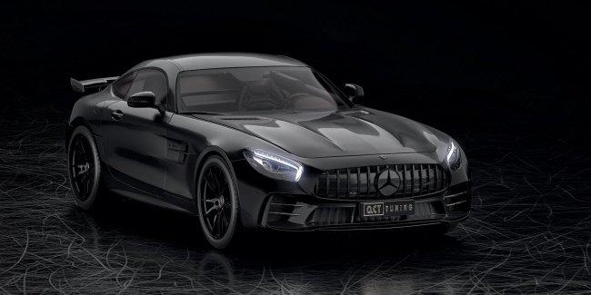 O.CT сделали 641-сильный Mercedes-AMG GT R