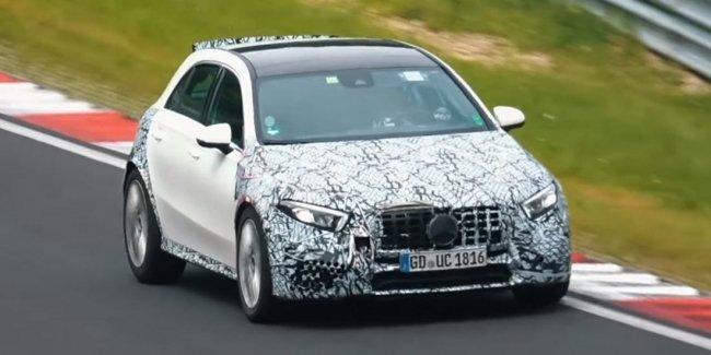 Новейший Mercedes-AMG A45 вывели на скоростные тесты