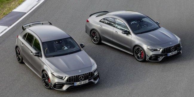 Mercedes-AMG показал 421-сильные компакт-кары A 45 и CLA 45