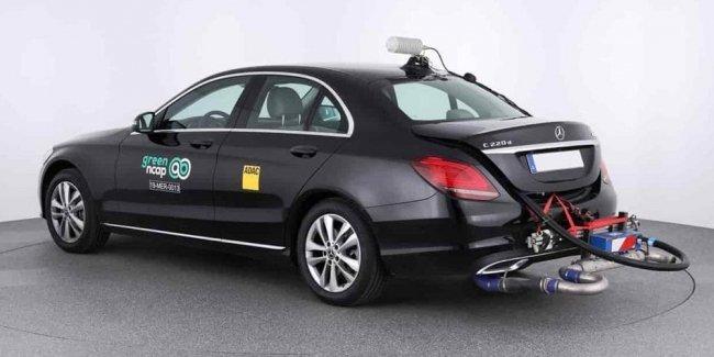 Дизельный Mercedes-Benz удивил результатами теста на чистоту выхлопа