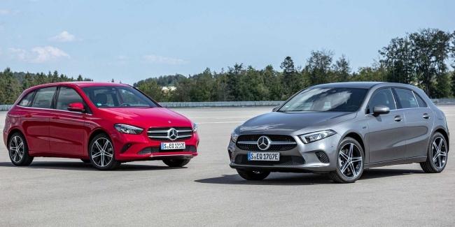 Mercedes-Benz показала гибридные A250e и B250e