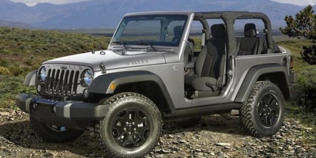 Jeep выпустил две новые спецверсии внедорожника Wrangler