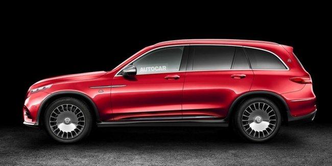 Роскошный кроссовер Mercedes-Maybach представят в ноябре нынешнего года