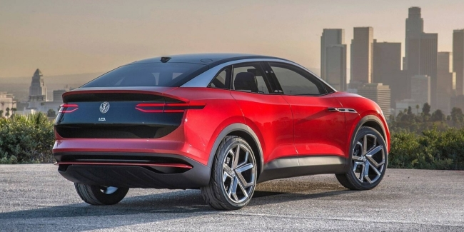 Volkswagen ID.4 будет дешевле Tesla. Volkswagen Coupe 2021 тест