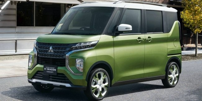 Mitsubishi представила концепт Super Height K-Wagon