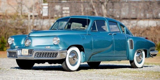 Легендарный Tucker 48 в идеальном состоянии выставлен на продажу
